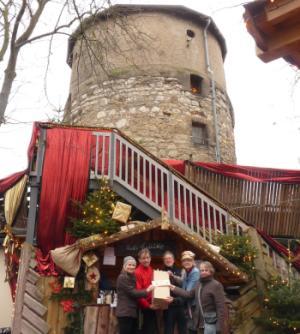 Weihnachtsdorf 2017 Spende thumb
